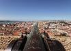 Panorama di Lisbona dal Castello di San Giorgio.