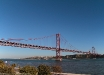 Ponte 25 Aprile (Lisbona, Portogallo).