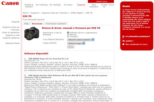 Digital Photo Professional 3 e 4 e altro software