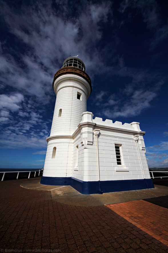 Il faro di Cape Byron (Byron Bay, NSW, Australia) - (Dati di scatto: Canon EOS 7D, Sigma 8-16 f/4.5/5.6 DC HSM, 1/640 sec, f/11, ISO 100, mano libera)