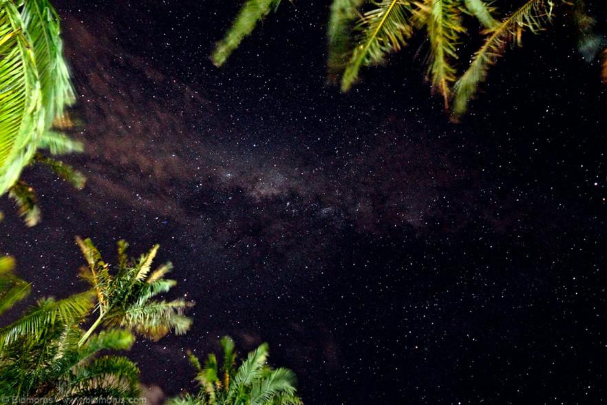 Foto 18 - La volta stellata al nostro arrivo a Port MacQuarie (NSW, Australia) - (Dati di scatto: Canon EOS 7D, Sigma 8-16 f/4.5/5.6 DC HSM, 25 sec, f/5.0, ISO 6400, treppiede)