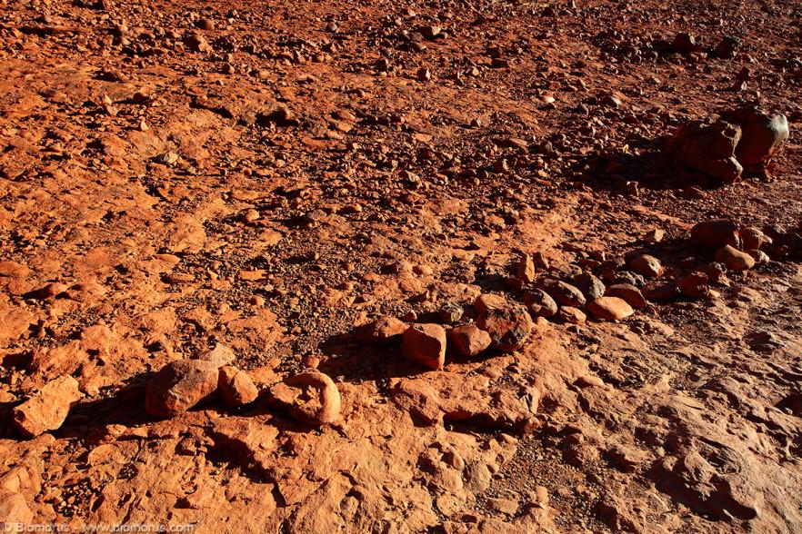 Foto 35 - Il suolo marziano delle Olgas (Kata Tjuta) (Petermann, Uluru-Kata Tjuta National Park, NT, Australia) - (Dati di scatto: Canon EOS 7D, Sigma 8-16 f/4.5/5.6 DC HSM, 1/320 sec, f/10, ISO 400, mano libera)