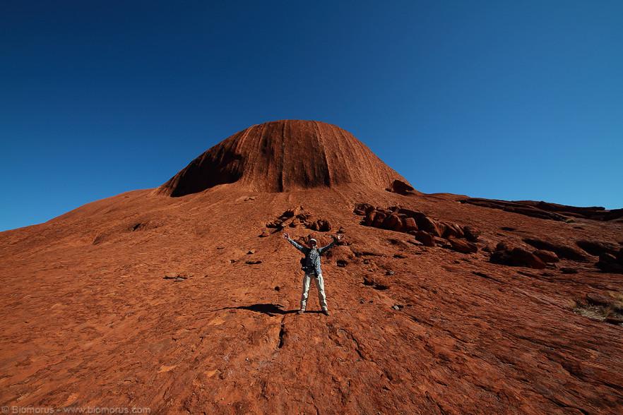 Foto 44 - Franco su Marte (Uluru, NT, Australia) - (Dati di scatto: Canon EOS 7D, Sigma 8-16 f/4.5/5.6 DC HSM, 1/160 sec, f/11, ISO 100, mano libera)