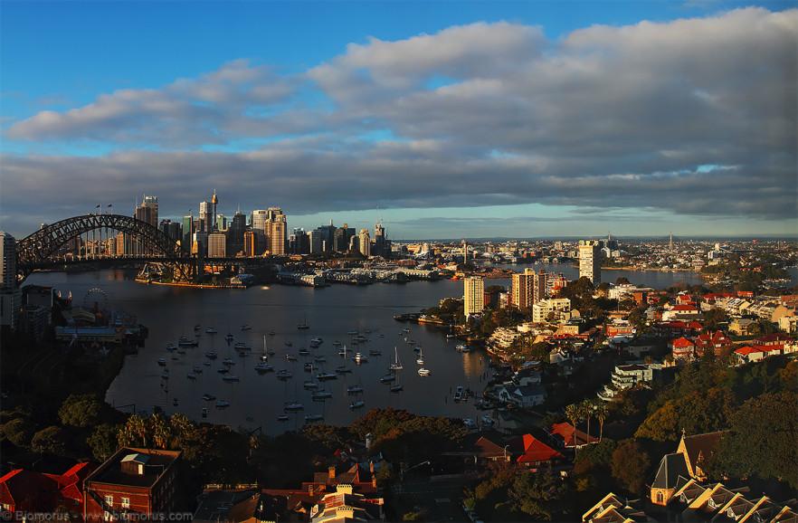 Foto 50 - Lavender Bay da North Sydney con la city sullo sfondo (NSW, Australia) - (Dati di scatto: Canon EOS 7D, Canon 24-105 f/4 L IS USM, 1/200 sec, f/8, ISO 100, mano libera)
